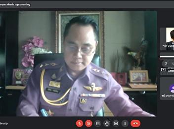 thesis defense exam of Colonel (Special) Romsai Wongcharoen