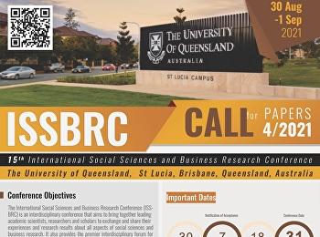 การนำเสนอระดับนานาชาติ Conference ISSBRC 30 สิงหาคม -1 กันยายน 2564